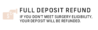 FULL DEPOSIT REFUND
