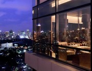 Enjoy the panoramic view One-80 Wine Bar