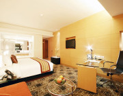 Superior Room 35 sqm comes complete with LCD TV with international TV channels and DVD player