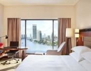 Experience comfort and refined contemporary riverfront Hotel Rooms and Suites with stunning views of Bangkok