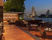 This luxury riverside Hotel is located beside the mighty Chao Phraya River and all rooms offer unobstructed river views