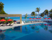 Another resort pool to take in the sweeping vistas of Patong Bay